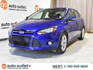 Used 2013 Ford Focus Titanium, Leather Heated Seats, Sunroof, Backup Camera, Remote Start for sale in Edmonton, AB