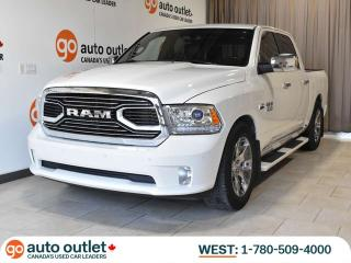 Used 2017 RAM 1500 LIMITED LONGHORN; 4x4, Nav, Air Suspension, Sunroof, Low KM! for sale in Edmonton, AB