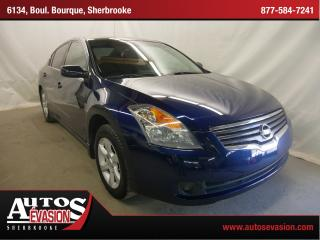 Used 2008 Nissan Altima 2.5 S + Vi Teintées for sale in Sherbrooke, QC