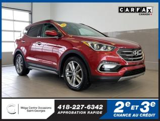 Used 2018 Hyundai Santa Fe Sport Ltd / Cuir / Toit for sale in St-Georges, QC
