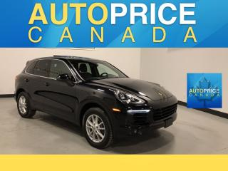 Used 2015 Porsche Cayenne DIESEL NAVIGATION|PANOROOF|LEATHER for sale in Mississauga, ON