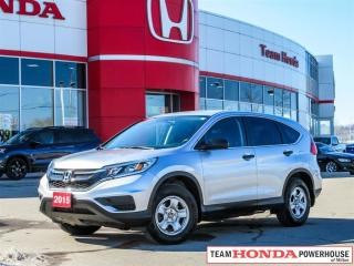 Used 2015 Honda CR-V LX - *ACCIDENT FREE | HEATED SEATS* for sale in Milton, ON
