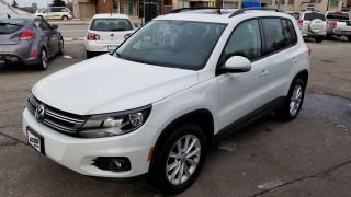 Used 2015 Volkswagen Tiguan Special Edition-LEATHER-PAN ROOF-AWD for sale in Hamilton, ON