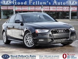 Used 2015 Audi A4 KOMFORT, QUATRO, SUNROOF, LEATHER & POWER SEATS for sale in Toronto, ON