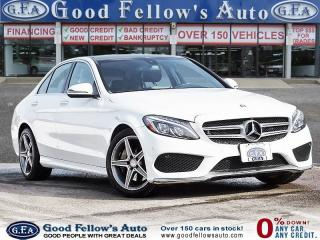 Used 2016 Mercedes-Benz C 300 4MATIC, NAVIGATION, REARVIEW CAMERA, POWER SEATS for sale in Toronto, ON