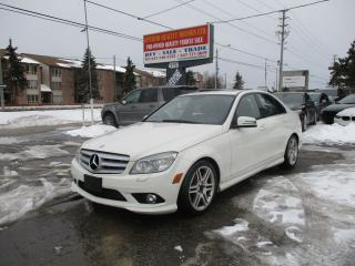 Used 2010 Mercedes-Benz C-Class 4MATIC AMG PKG ROOF NANVIGATION!! for sale in Toronto, ON