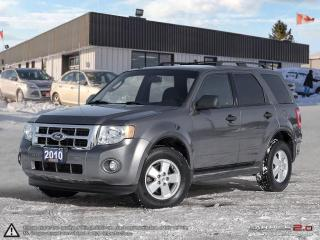 Used 2010 Ford Escape XLT,ONE OWNER,REMOTE START,PWR S/ROOF,LEATHER INT. for sale in Barrie, ON