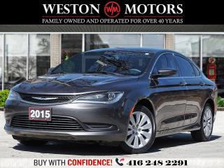 Used 2015 Chrysler 200 LX*PWR GRP*AUX/USB*ACC FREE*WOW ONLY 71KM!!* for sale in Toronto, ON