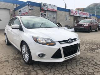 Used 2013 Ford Focus Titanium_Navi_Sunroof_Backup Cam_Bluetooth for sale in Oakville, ON