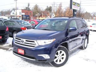 Used 2011 Toyota Highlander SPORT,AWD,LEATHER,BACKUP CAMERA,BLUETOOTH,7 PASS,, for sale in Kitchener, ON