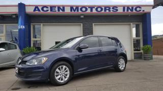 Used 2015 Volkswagen Golf TRENDLINE for sale in Hamilton, ON