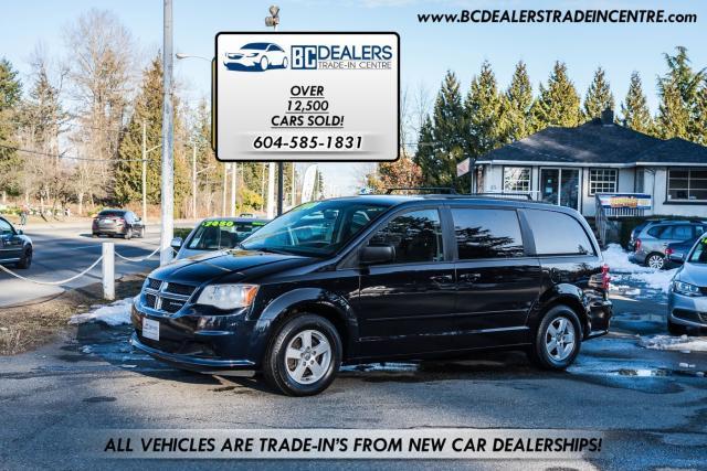 2011 Dodge Grand Caravan Stow-N-Go, Bluetooth, Reverse Cam, 7-Passenger!