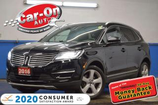 Used 2016 Lincoln MKC Premier AWD LEATHER REAR CAM HTD SEATS for sale in Ottawa, ON