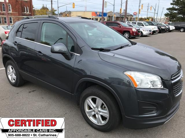 2016 Chevrolet Trax LT ** AWD, SUNROOF, BACKUP CAM, REMOTE START **