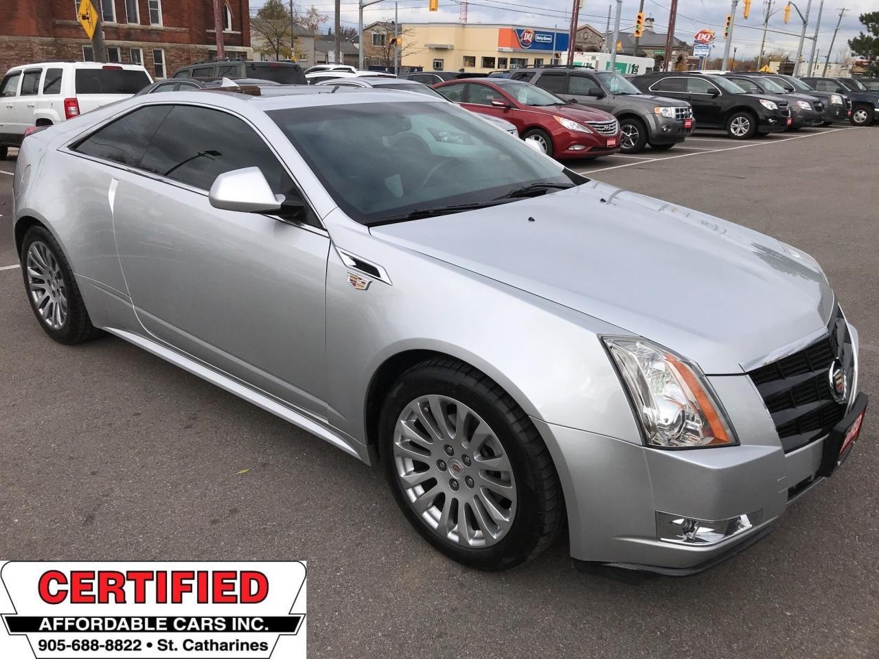 2011 Cadillac CTS Performance ** AWD, HTD LEATH, AUTOSTART, BACKUP C