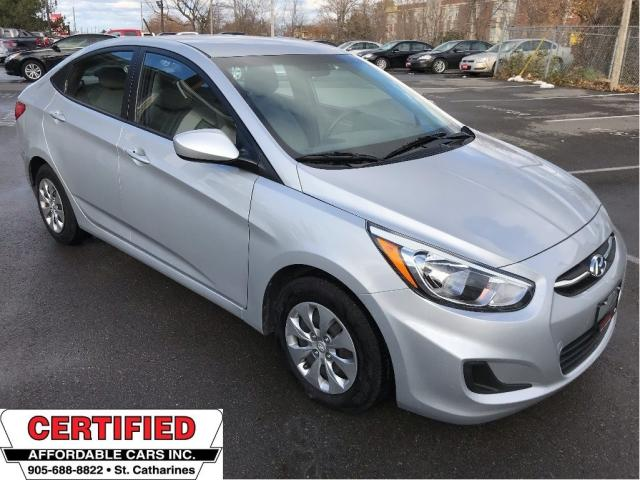 2016 Hyundai Accent GL ** HTD SEATS, CRUISE, BLUETOOTH **