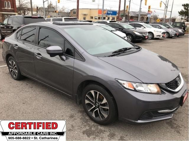 2015 Honda Civic Sedan EX ** HTD SEATS, BACKUP CAM, BLUETOOTH **