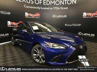 New 2019 Lexus ES 350 F Sport Series 1 for sale in Edmonton, AB