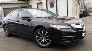 Used 2015 Acura TLX 9-Spd AT w/Technology Package - NAV! BACK-UP CAM! BLIND-SPOT! for sale in Kitchener, ON
