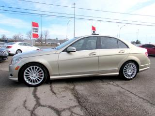 Used 2010 Mercedes-Benz C-Class C250 4-MATIC SUNROOF CERTIFIED 2YR WARRANTY for sale in Milton, ON