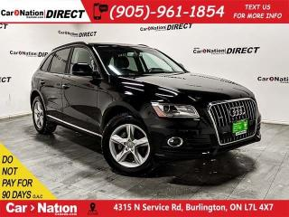Used 2016 Audi Q5 2.0T Komfort quattro| WE WANT YOUR TRADE| for sale in Burlington, ON