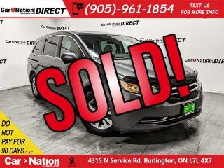 Used 2015 Honda Odyssey EX-L w/RES| SUNROOF| DVD| LEATHER| for sale in Burlington, ON