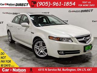 Used 2008 Acura TL | SUNROOF| NAVI| BACK UP CAMERA| AS-TRADED| for sale in Burlington, ON