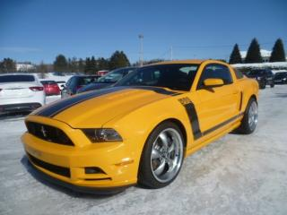 Used 2013 Ford Mustang Boss 302 for sale in East broughton, QC
