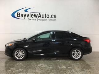 Used 2016 Ford Focus - SYNC! REVERSE CAM! ALLOYS! ONLY 35,000KMS! for sale in Belleville, ON