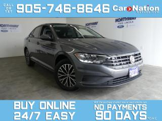 Used 2019 Volkswagen Jetta HIGHLINE | SUNROOF | LEATHER | TOUCHSCREEN for sale in Brantford, ON
