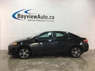 Used 2018 Toyota Corolla LE - AUTO! SUNROOF! PWR GROUP! ALLOYS! for sale in Belleville, ON