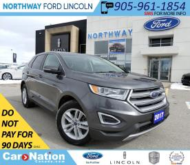 Used 2017 Ford Edge SEL | HTD SEATS | BACKUP CAM | PUSH TO START | for sale in Brantford, ON
