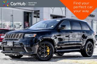 New 2018 Jeep Grand Cherokee TRACKHAWK|4x4|Trailer.Tow.Pkg|Nav|Pano_Sunroof for sale in Thornhill, ON
