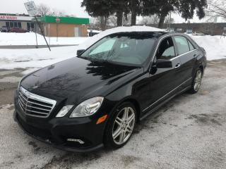 Used 2010 Mercedes-Benz E-Class 4DR SDN E 550 4MATIC for sale in Concord, ON