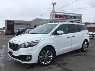 Used 2016 Kia Sedona SXL - NAVI - LEATHER - SUNROOF - CAMERA for sale in Oakville, ON
