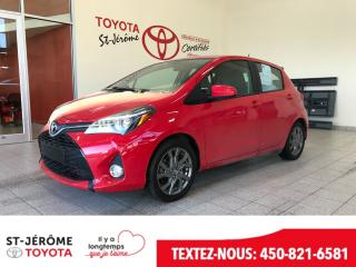 Used 2015 Toyota Yaris Se Gr Elect for sale in Mirabel, QC