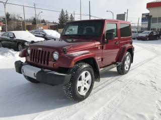 Used 2012 Jeep Wrangler 4 RM 2 portes Sahara for sale in Sherbrooke, QC