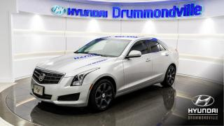 Used 2013 Cadillac ATS AWD + TURBO + GARANTIE + BOSE + CUIR + M for sale in Drummondville, QC