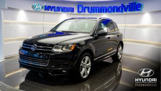 Used 2014 Volkswagen Touareg TDI EXECLINE + R-LINE + GARANTIE + NAVI for sale in Drummondville, QC