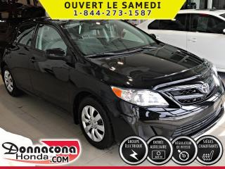 Used 2012 Toyota Corolla CE ***PNEUS HIVER***PRISE USB***BAS MILL for sale in Donnacona, QC