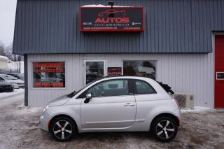 Used 2012 Fiat 500 C Lounge for sale in Lévis, QC