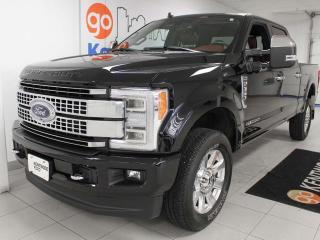 Used 2019 Ford F-350 Super Duty SRW Platinum 6.7L Power Stroke Turbo Diesel with NAV, sunrrof, heated/cooled power leather seats, heated rear seats, heated steering wheel for sale in Edmonton, AB