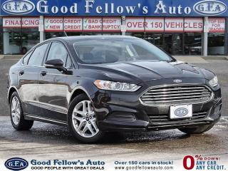 Used 2015 Ford Fusion SE MODEL, REARVIEW CAMERA, BLUETOOTH, ALLOY WHEELS for sale in Toronto, ON