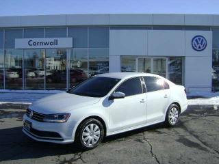 Used 2016 Volkswagen Jetta Sedan Trendline+ 4dr FWD Sedan for sale in Cornwall, ON