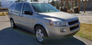 Used 2008 Chevrolet Uplander LT Ext. 1LT for sale in West Kelowna, BC
