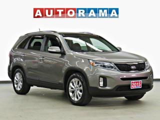 Used 2015 Kia Sorento EX V6 LEATHER SUNROOF BACK UP CAM AWD for sale in Toronto, ON