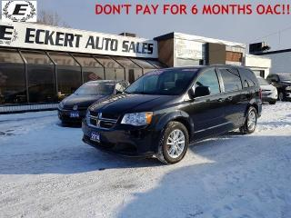 Used 2014 Dodge Grand Caravan SXT/DVD/STOW-N-GO/REVERSE CAMERA for sale in Barrie, ON
