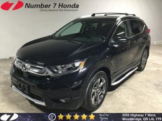 Used 2017 Honda CR-V EX-L| Leather, Backup Cam, All-Wheel Drive! for sale in Woodbridge, ON
