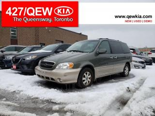 Used 2005 Kia Sedona EX | LOW KM  |  AS TRADED  | LOADED | for sale in Etobicoke, ON