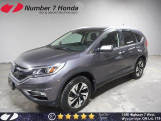 Used 2016 Honda CR-V Touring| Loaded| Leather| Navi for sale in Woodbridge, ON
